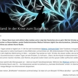 Oberpfalz Tv - Markus Hofmann hilft Deutschland sich in der Krise weiterzuentwickeln
