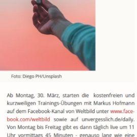 Kostenfreies Gedächtnistraining mit Markus Hofmann